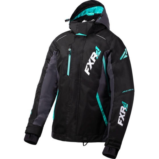 fxr racing pro vertical  jackets insulated - snowmobile