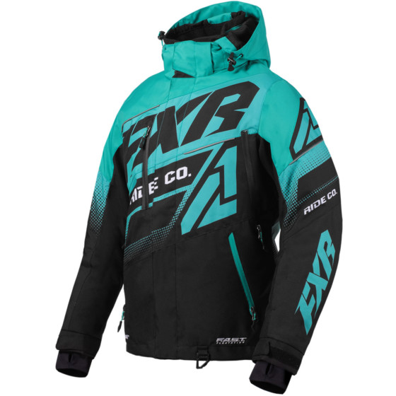 fxr racing fx boost  jackets insulated - snowmobile