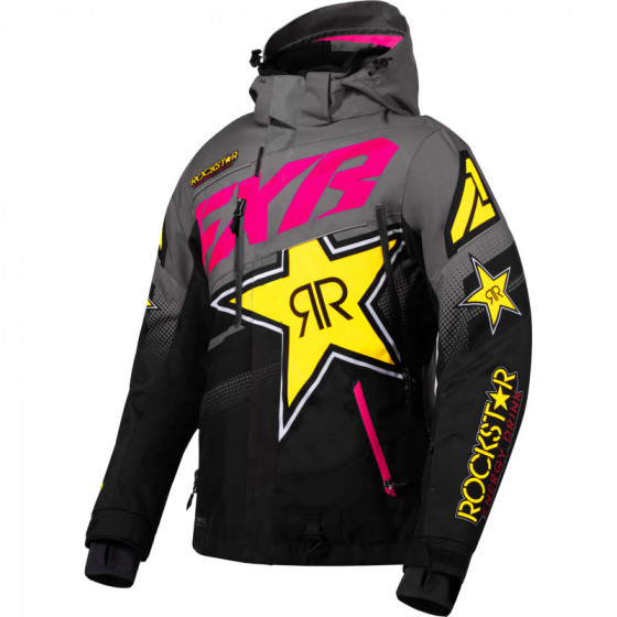 fxr racing rockstar fx boost  jackets insulated - snowmobile