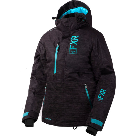 fxr racing fresh  jackets insulated - snowmobile