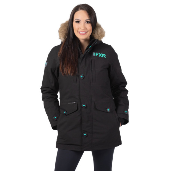 fxr racing parka svalbard  jackets insulated - snowmobile