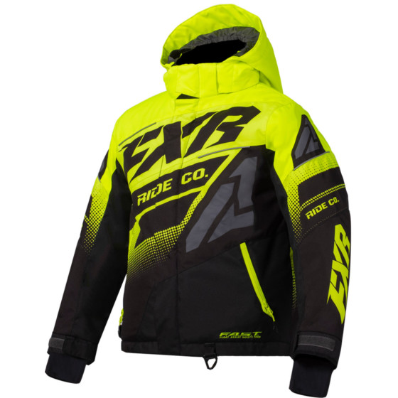 fxr racing boost  jackets insulated - snowmobile