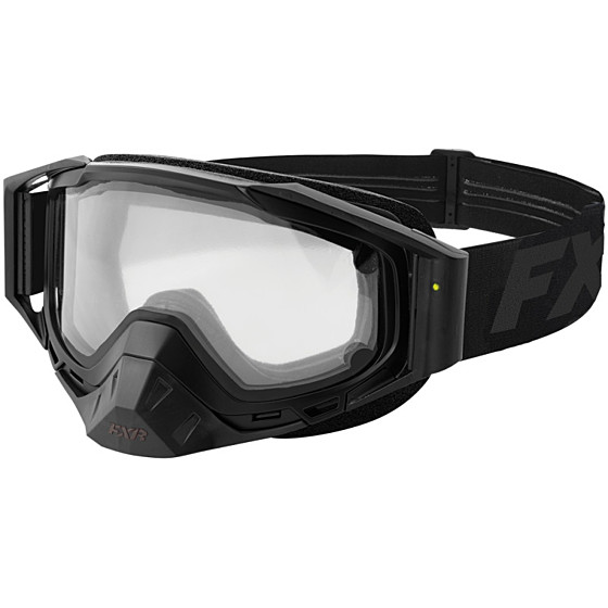 fxr racing electric core adult goggles - snowmobile