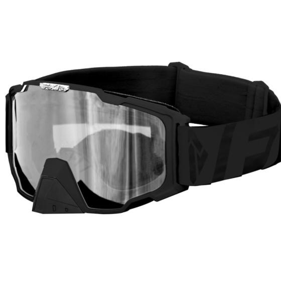 fxr racing clear maverick adult goggles - snowmobile