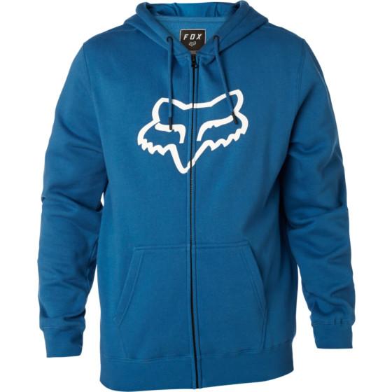 fox racing fleece zip legacy foxhead - casual