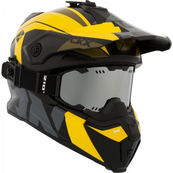 ckx fiberglass altitude titan adult helmet full face - snowmobile