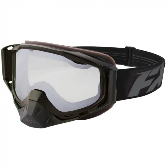fxr racing  clear core adult goggles - snowmobile